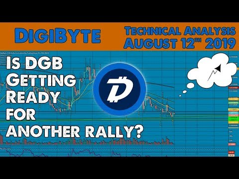 Is DigiByte getting ready for another Bull rally? Technical Analysis 12 aug 2019