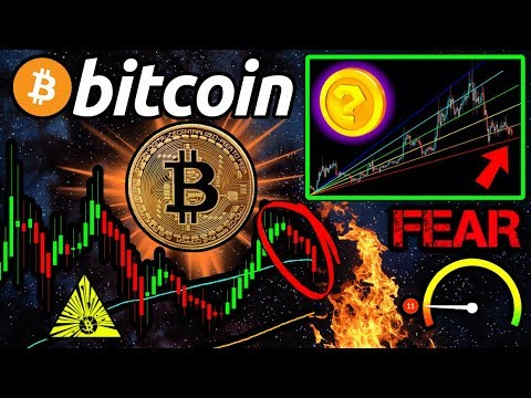 Bitcoin CRITICIAL Support BROKE! 😱 FEAR INDEX Yearly HIGH! ALTCOINS Heating Up!?
