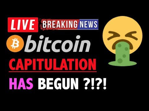 Bitcoin *CAPITULATION* HAS BEGUN?!❗️LIVE Crypto Trading Analysis TA & BTC Cryptocurrency Price News