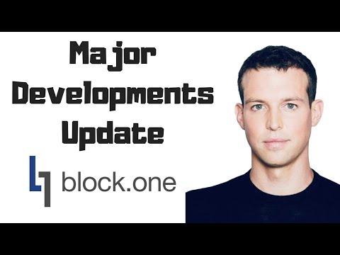 Brendan Blumer Discusses Major Developments For EOS @ Block.one