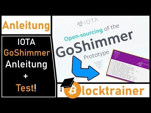 IOTA GoShimmer Anleitung und Test! (Windows + Docker + Git!)
