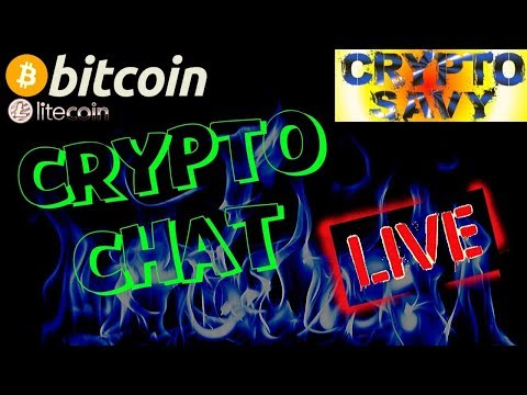 🔥Crypto Savy Live Chat!🔥bitcoin litecoin price prediction, analysis, news, trading