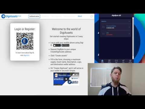DigiByte Update – #46 – Create DigiAssets walkthrough & refreshed DigiByte Go