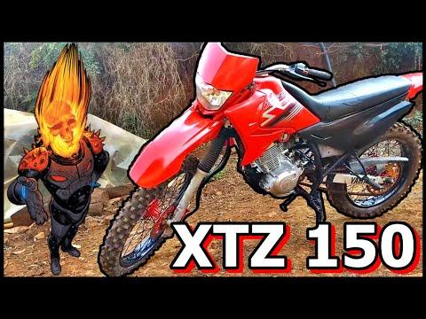 XTZ 150 (NOVA MOTO DO CANAL)