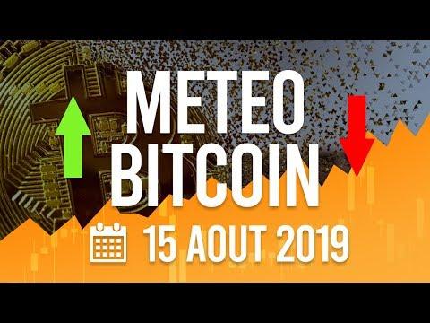 La Météo Bitcoin FR – Jeudi 15 août 2019 – Crypto Fanta