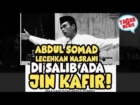 Abdul Somad : Di Salib Ada Jin Kafir! Dasar Gob####!