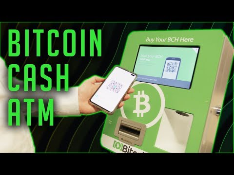 Bitcoin Cash ATMs