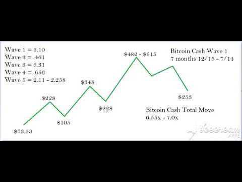 BITCOIN CASH : THE LARGER WAVE (1&2) Part 1 of 2