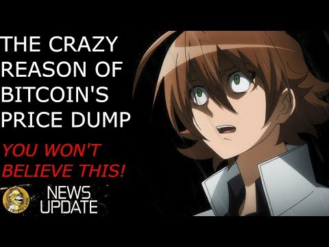 Bitcoin Price Dump Explained – You Won't Believe The Crazy Reason!