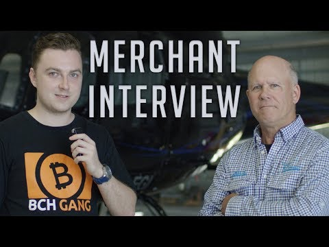 Bitcoin Cash Merchant Interview – Townsville Helicopters
