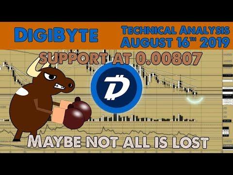 Will DigiByte bulls continue rejecting all the sales? Technical Analysis Aug 16 2019