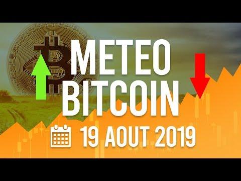 La Météo Bitcoin FR – Lundi 19 août 2019 – Crypto Fanta