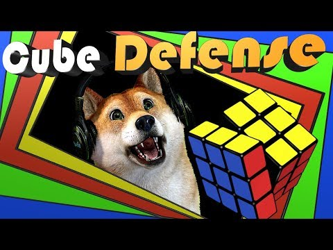 Doge playing Cube Defense🔥playing till wave 50 each game!🔥 adding friends today!