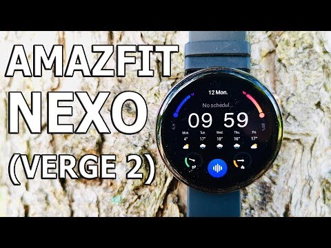 Быстрые Красивые Хрупкие II 10 фактов о Xiaomi Amazfit Verge 2 (Nexo)… Smart Watch 2