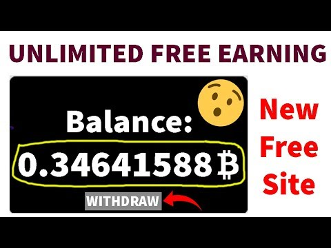 OMG😱 New Free Bitcoin Cloud Mining Site Totally Free – Earn Free Bitcoin Everyday