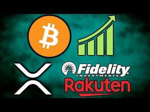 BITCOIN Pumps! – Rakuten Crypto Exchange Live – Fidelity XRP – Santander Ripple – BoA Crypto Patent