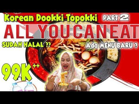 NEW Dookki All You Can Eat !! Makan Topokki dan Samyang sepuasnya ada menu baru