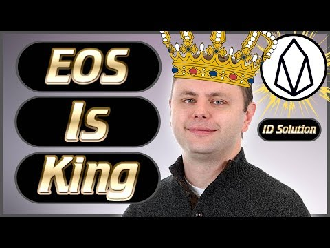 EOS News Weekly #34 – EOS Is Winning 😎 – ID Solutions – Brendan Blumer Telegram & Much More Dapps!