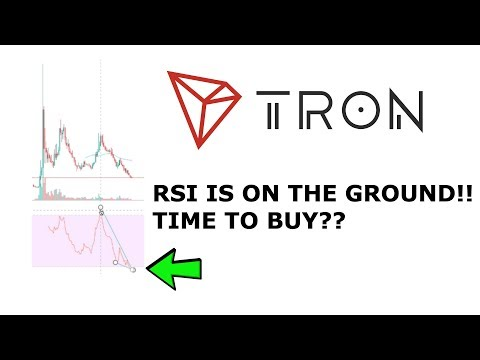TRON TRX RSI AT EXTREME LOWS! MOON SOON? TIME TO BUY MORE?