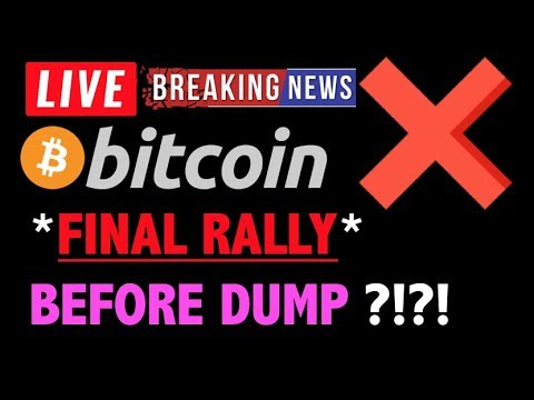 Bitcoin *FINAL RALLY* BEFORE DUMP?!❗️LIVE Crypto Trading Analysis & BTC Cryptocurrency Price News