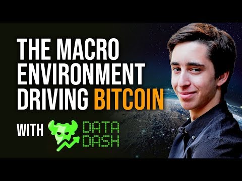The Macro Environment Driving Bitcoin, Gold & Silver With Datadash
