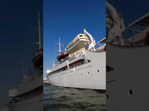 Il Doge Giampaolo Manca ritrova il suo più grande amore lo yacht Cristina