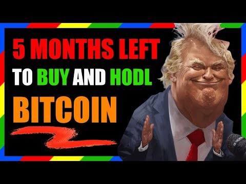 5 MONTHS LEFT TO BUY BITCOIN – CRYPTO CURRENCY MARKET MANIPULATION