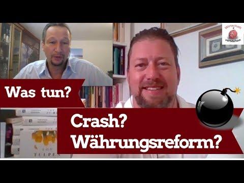 Crash & Währungsreform voraus? – Immobilien, Aktien, Bitcoin, Gold – Prof. Dr. Torsten Dennin