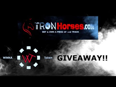 TRON HORSES WINNA TOKEN GIVEAWAY! 4 DAYS TIL PRESALE!
