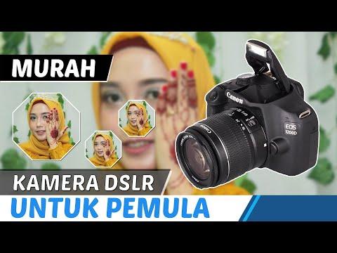 3 jutaan !! Kamera DSLR Murah buat PEMULA !!!  Review Canon EOS 1200D  2019