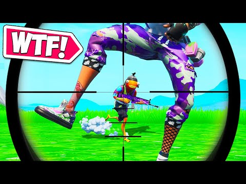 LUCKIEST ACCIDENTAL SNIPE EVER!! – Fortnite Funny Moments #653