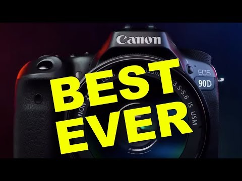 Canon 90D + EOS M6 Mk II Preview!