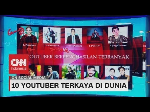 Ini Dia 10 Youtuber Terkaya di Dunia, Ada Atta Halilintar!