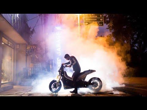 Yamaha TMAX Full Custom, Vespa Scrambler, BMW R100 Canggih, Semua Ada di SMOKED GARAGE Bali!