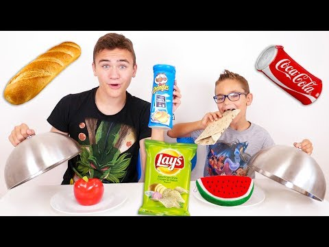 REAL FOOD VS BACK TO SCHOOL FOOD CHALLENGE – Fournitures Scolaires Comestibles ?