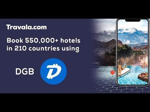DigiByte (DGB) is now a Payment Option on Travala.com!!!
