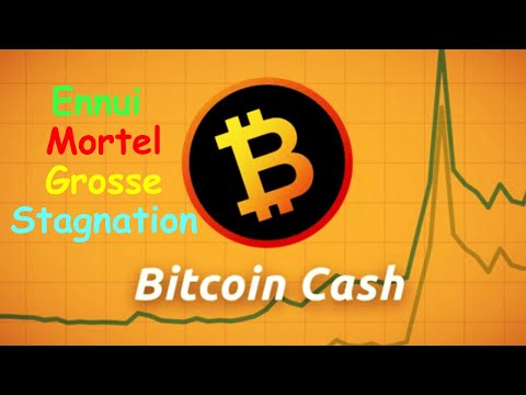 BITCOIN CASH STAGNATION DE L'ENFER !? bch analyse technique crypto monnaie bitcoin