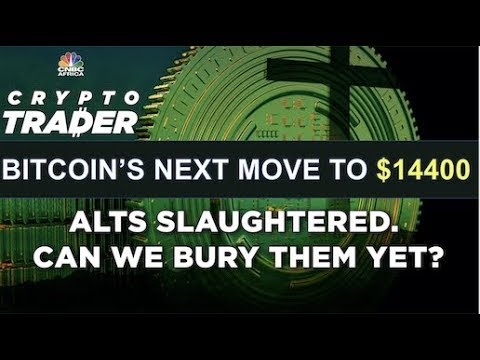 BITCOIN'S NEXT STOP IS $14400. Can we bury alts?