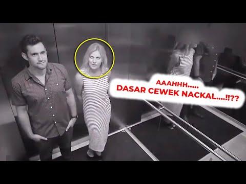 JANGAN LUPA..!!! SELALU ADA YANG MENGAWASI…!!! Kejadian di Lift yang Terekam Kamera #YtCrash