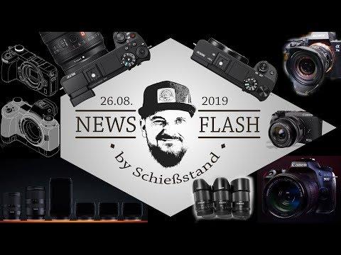 NEWSFLASH #18: Objektive von TAMRON, VILTROX und SAMYANG, a6700/6200, EOS M6 Mark II, EOS 90D uvm.