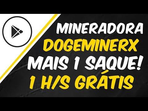 DOGEMINERX – MAIS UM SAQUE ! 300 DOGE PLANO MINIMO DE INVESTIMENTO
