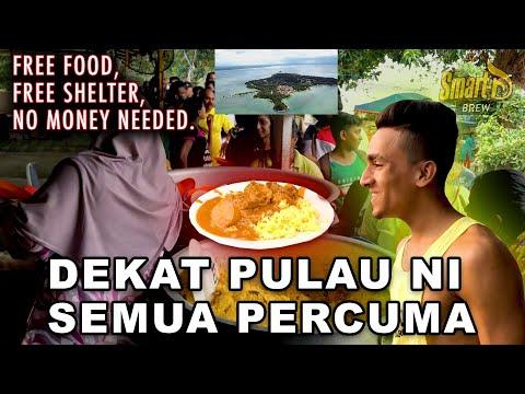 GAISS ADA PULAU NI MAKAN DAN TIDO FREE!!! ADA DEKAT MALAYSIA? VLOG