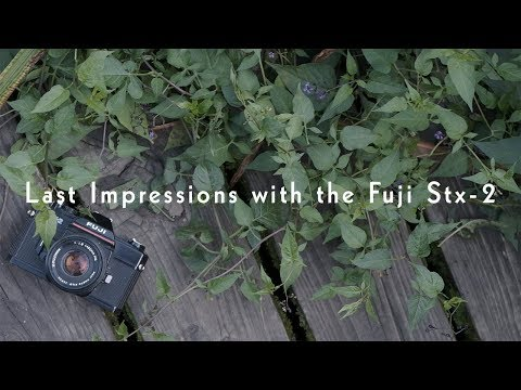 Last Impressions with the Fuji Stx-2 – Camera Review