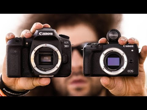 OFFICIAL Canon 90D / EOS M6 Mark II Hands On PREVIEW | This Makes NO SENSE!