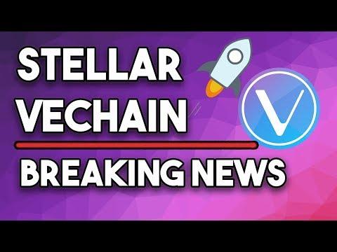 Stellar XLM Moderate Upsurge Intact Vechain VET Ruling In Partnerships & New Summit