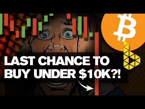 Brutal Bitcoin Dump! Last Chance To Buy Under 10k!? Here's Why…
