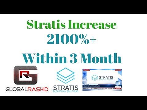 Stratis Coin Increase 2100%+  STRATIS   ने दिया 2100%+ का मुनाफा 3  महीने में