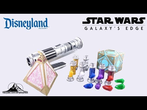 Star Wars Galaxy's Edge Kyber Crystals Video Review