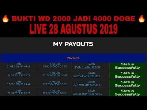 LEGIT | BUKTI WITHDRAW 2000 DOGE JADI 4000 DOGE INSTAN