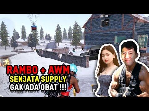 RAMBO + AWM GA ADA OBAT BUAT JAGAIN CENCEN TERCINTA – PUBG MOBILE INDONESIA